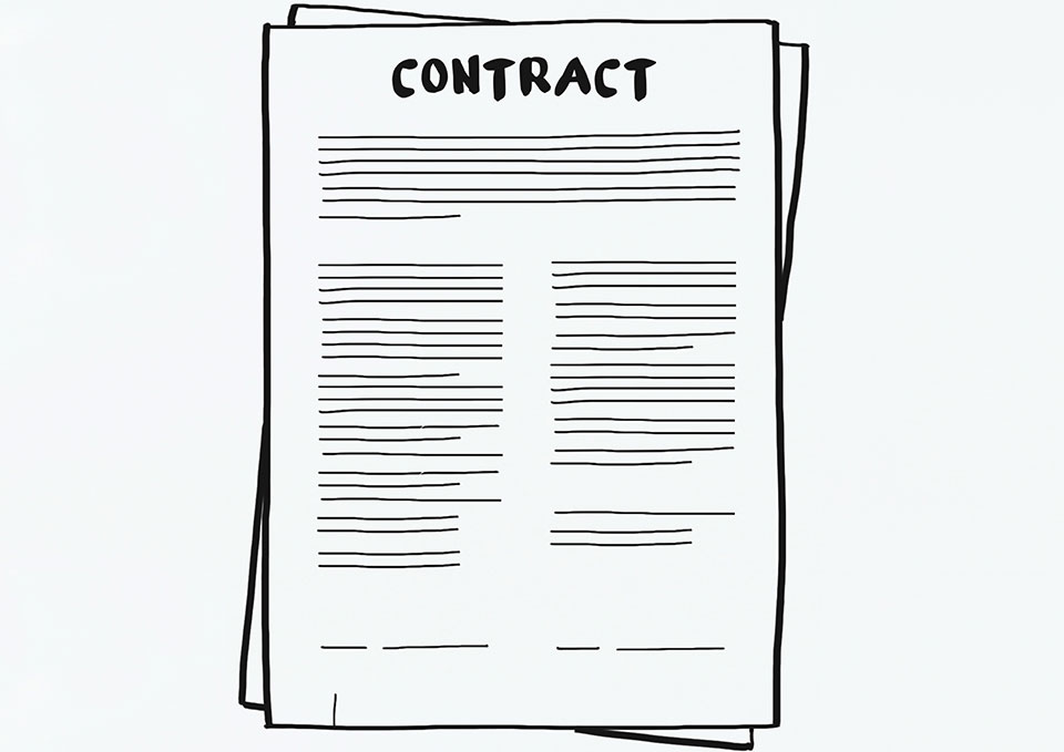 A sample contract